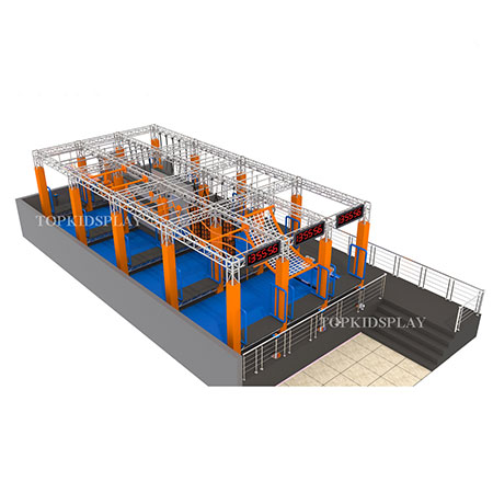 Factory Price Finland Children ninja warrior course for sale