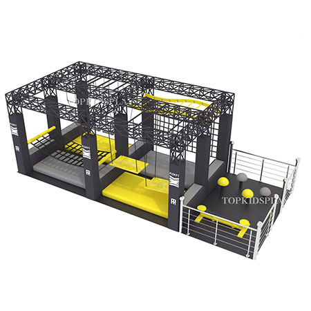 Indoor Ninja Warrior in Australia Fitness Playing Equipment
